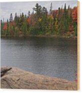 Algonquin Provincial Park Ontario Wood Print