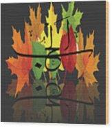 Alhub Wood Print
