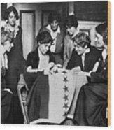 Alice Paul (1885-1977) Wood Print by Granger