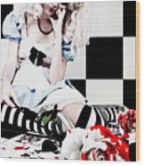 Alice2 Wood Print