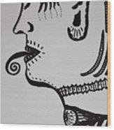 Alien Lick Wood Print