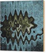 Alien Life Of The Summer Squash Wood Print