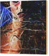 Alien Princess Wood Print