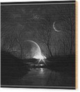 Alien Skies Wood Print