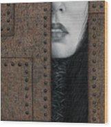 Alienation Wood Print