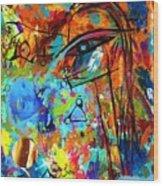 Aliens 4 Wood Print