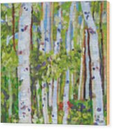 Alignment Wood Print