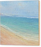 Aliomanu Beach Wood Print
