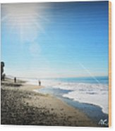 Aliso Viejo Beach Wood Print