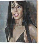 Aliya    Wood Print