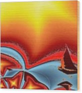 Alki Sail Under The Sun 2 Wood Print