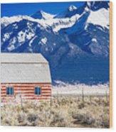 All American Barn Wood Print