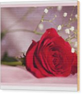 All Occasion Rose Wood Print