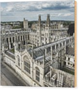 All Souls College - Oxford University Wood Print