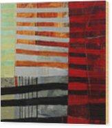 All Stripes 1 Wood Print