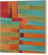 All Stripes 2 Wood Print