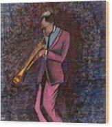 All That Jazz Wood Print