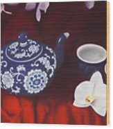 All The Tea In China Wood Print