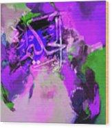 Allah 99 Nmes Al Hakeemo Wood Print