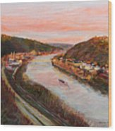 Allegheny Valley Wood Print by Martha Ressler