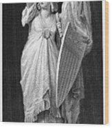 Allegory: Columbia, 1870 Wood Print