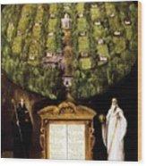 Allegory Of Camaldolese Order 1600 Wood Print