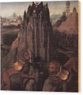Allegory With A Virgin 1479 80 Hans Memling Wood Print