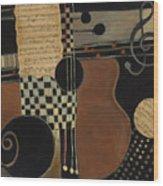 Allegro Moderato Wood Print