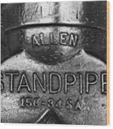 Allen Standpipe Wood Print