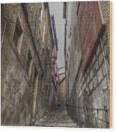 Alley Wood Print