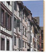 Alley In La Petite France Wood Print