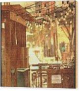 Alley Juke Joint Wood Print