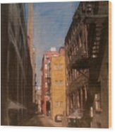 Alley Series 2 Wood Print
