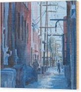 Alley Shortcut Wood Print