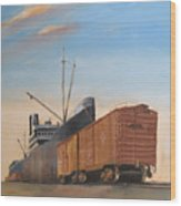 Allied Orient Lines Wood Print