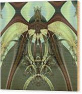 Allien Portal Wood Print