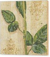 Allie's Rose Sonata 2 Wood Print by Debbie DeWitt