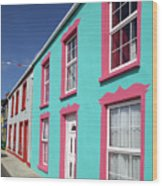 Allihies Streetscape West Cork Wood Print