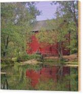 Allsy Sprng Mill 2 Wood Print