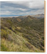 Alluring Landscape Of Arizona Wood Print