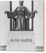 Alma Mater Wood Print