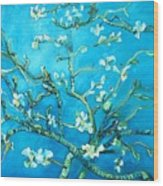 Almond Blossom Wood Print