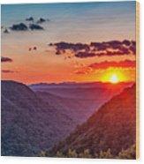 Almost Heaven - West Virginia Wood Print