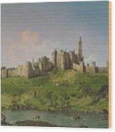 Alnwick Castle Wood Print
