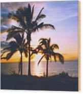 Aloha Enchanted Wood Print