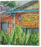 Alohaman Wood Print