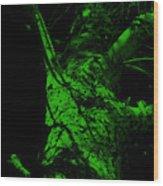 Alone Darkness 1 Wood Print