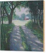 Along Kelderhouse Road Wood Print