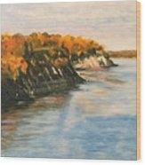 Along The Chesapeake Bay Wood Print