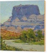 Along The Colorado River Wood Print